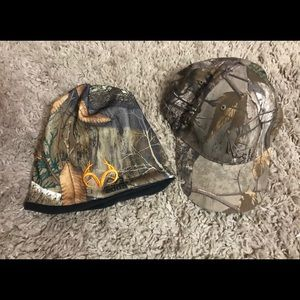 Real tree hat and toboggan